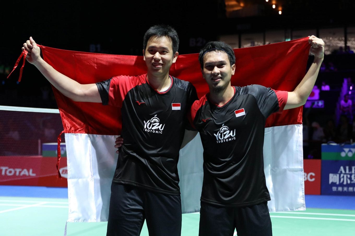 Ahsan / Hendra Meraih Juara BWF World Tour Finals 2019